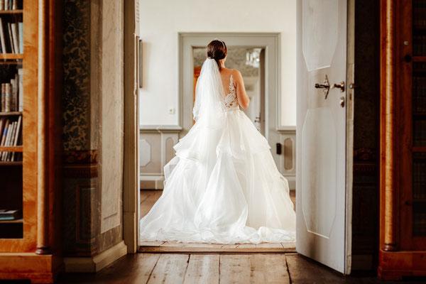 Braut in Schloss Corvey