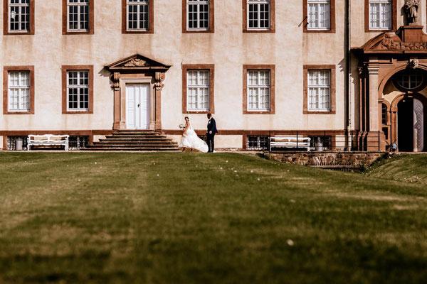 Brautpaarshooting Schloss Corvey