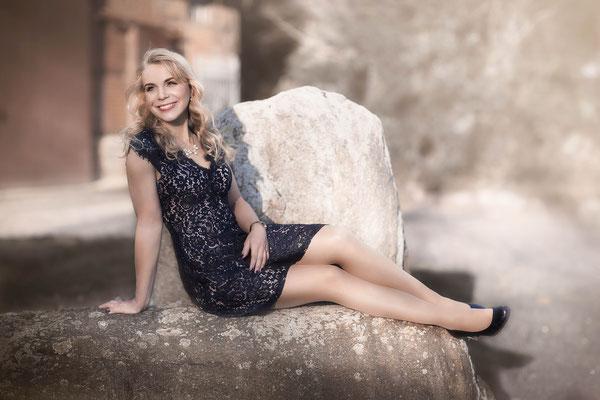 Marlies Fotomodel posiert