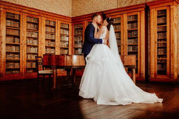 Brautpaar im Schloss Corvey