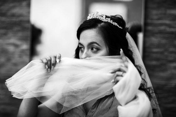 Braut wird gestylt in Braunschweig