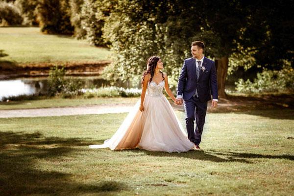 Hochzeitsfotos im Park Braunschweig