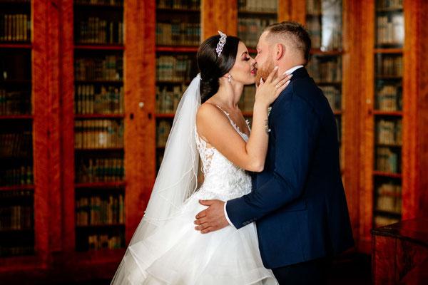 Brautpaarbilder im Schloss Corvey