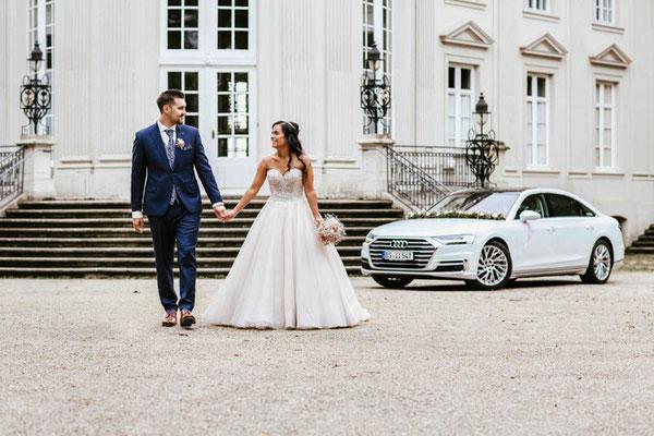 Brautpaarshooting in Braunschweig Schloss Richmond
