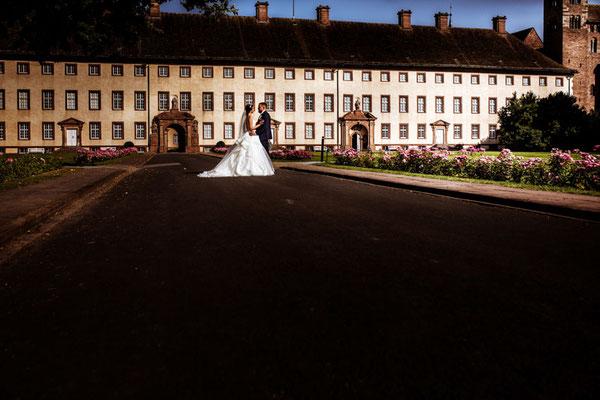 Brautbilder vor Schloss Corvey