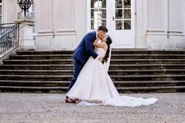 Brautpaar verliebt in Braunschweig