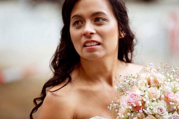 Braut emotional