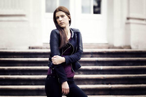 Fotoshooting mit Fotomodel Johanna