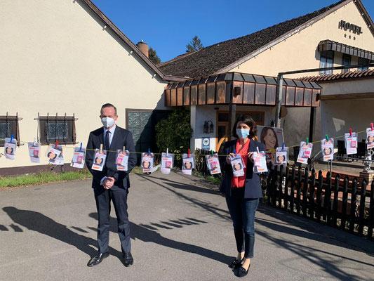Landesvorsitzender Dr. Volker Wissing und Spitzenkandidatin Daniela Schmitt