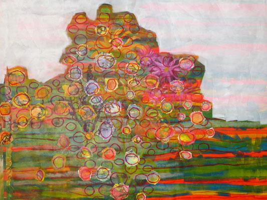 Bild Acryl auf Keilrahmen (ca. 184cm x 150cm)  1500€