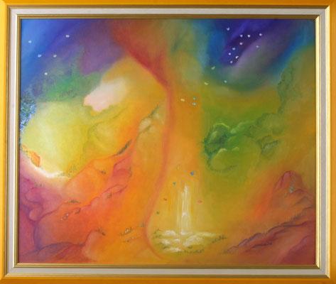 Songe de Papillons  (Huile sur toile 55x38 cm - 350€) - © B. Dupuis