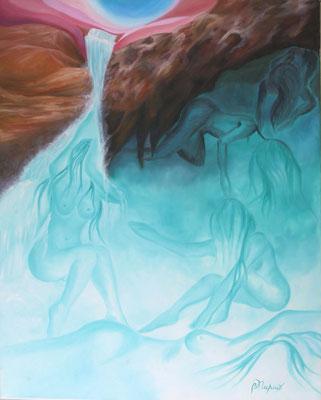 Emergence  (Huile sur toile 65x80 cm - 700€) - © B. Dupuis