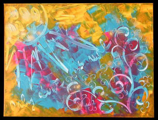 Happy joy - Acrylique sur toile ©B.Dupuis