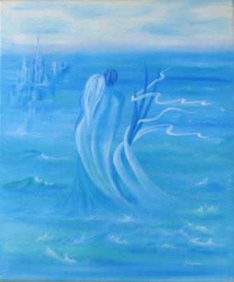 New Atlantis  (Huile sur toile 46x55cm - 400€) - © B. Dupuis