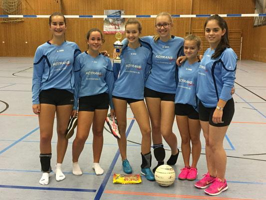 U16w - Turniersieg in Grafenau