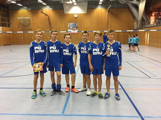 U14m - Turniersieg in Grafenau