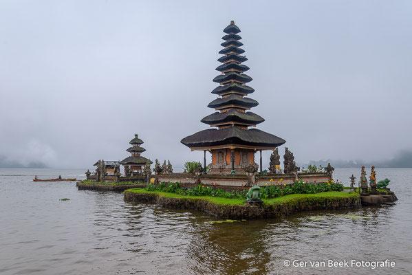 Ulun Danu Bratan tempel, Lake Bratan, Bali