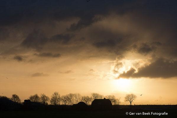 Dreigende wolken