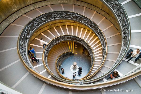 Trap in Vaticaans museum