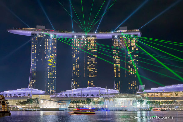Marina Bay Sands hotel, Singapore 2015