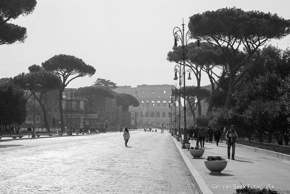 Uitzicht op Colosseum