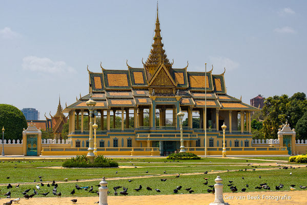 Phnom Oudong - Royal palace