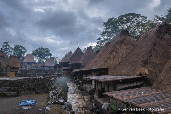 Bena, dorpje van de Ngadha bevolking