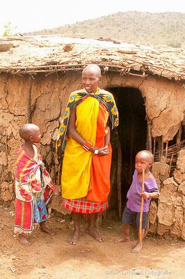 Masai gezin