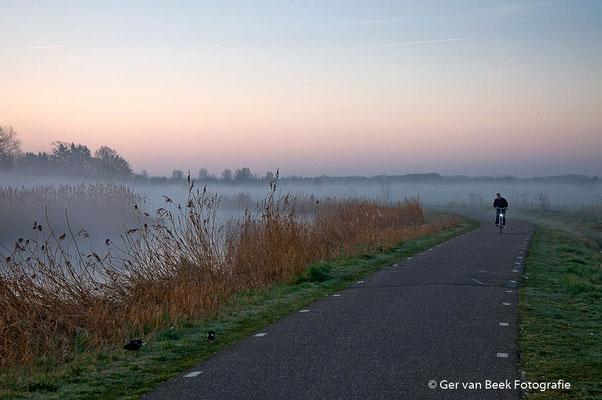 Eenzame fietser ...