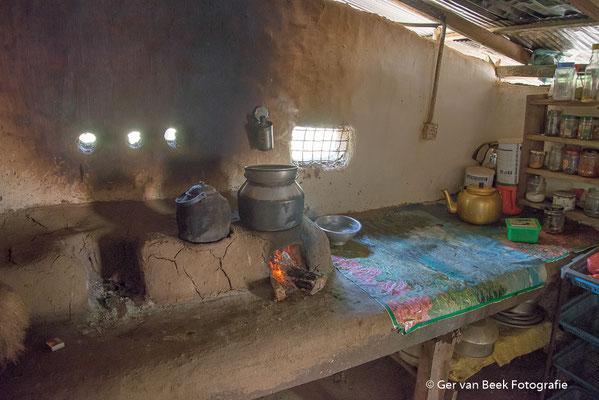 Primitieve keuken