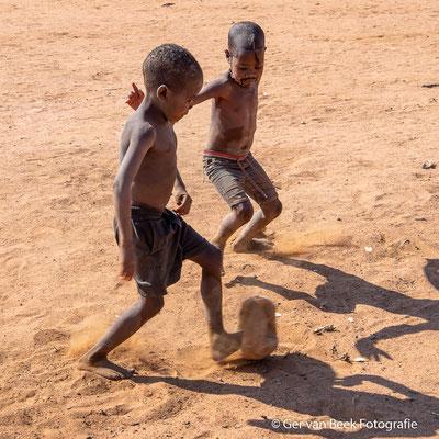 voetballen ...