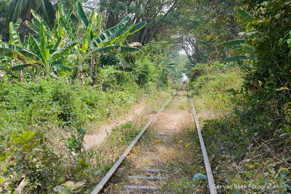 Oude spoorlijn
