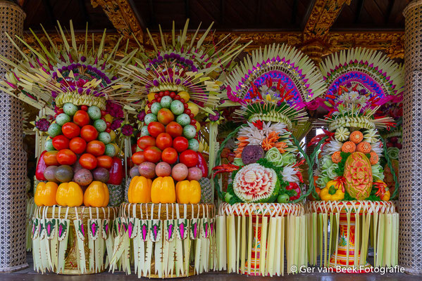 Offers van groenten en fruit