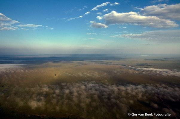 Masai Mara vanuit een luchtballon