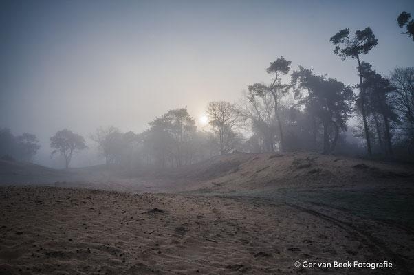 Zandafgraving nabij Kogelvangersven
