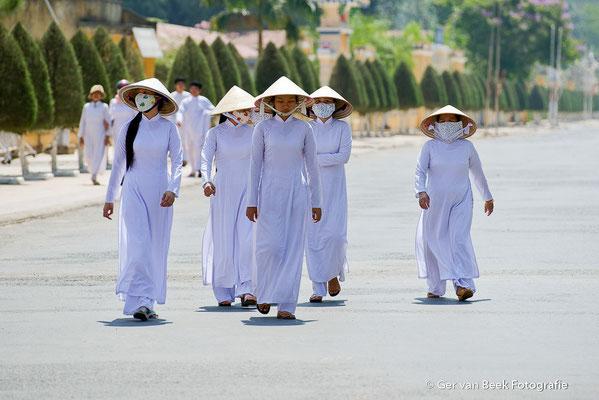 Op weg naar de tempel