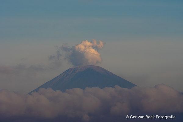 Uitbarsting Agungvulkaan, Bali