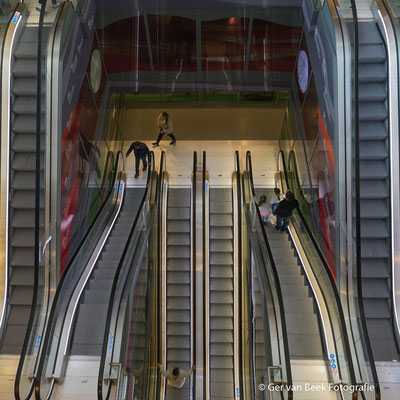 Roltrappen Markthal