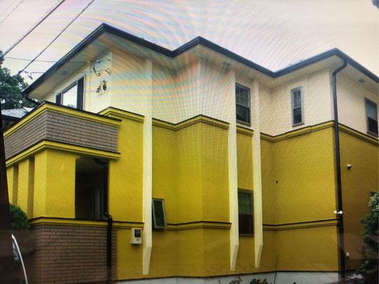 熱交換塗料 個人宅 K邸 完成