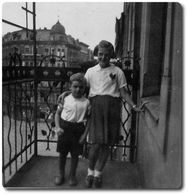 Balkon Matthiasstraße 47/49 in Breslau