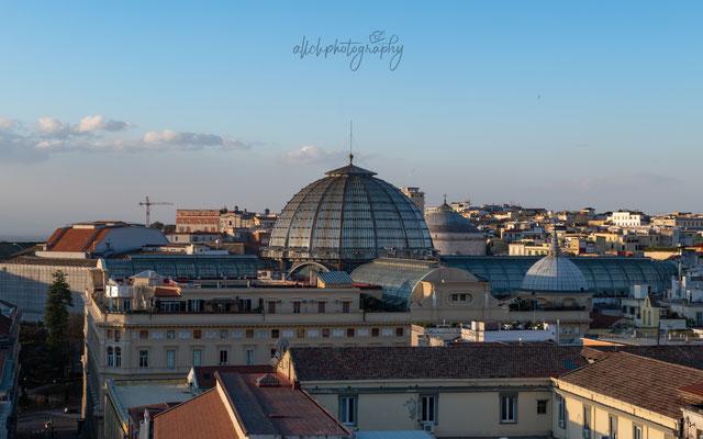 22.02.2019 - Italien - Napoli Ausblick über die Stadt
