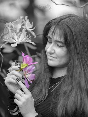 01.02.2020 - Shooting mit Ilaria im botanischen Garten Zürich