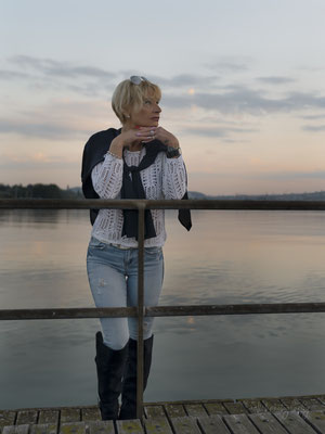 25.04.2020 - Shooting mit Cornelia - Wollishofen am See