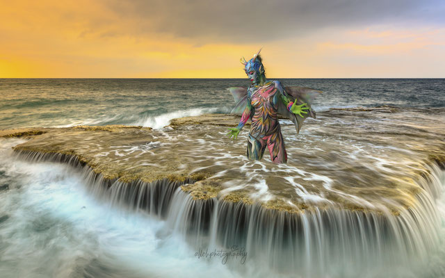 12.09.2020 Bodypainting Shooting mit Barbara - Painting by Ramona (@Bodypaintingswiss)
