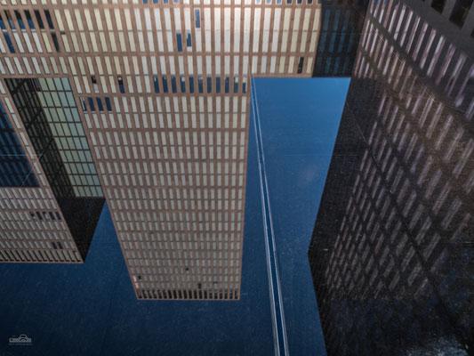 05.09.2016 - Oerlikon - Main Tower - Spiegelung