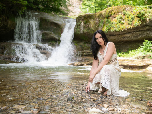 16.06.2019 - Shooting mit Claudia - Outdoor Shooting im Kemtnertobel