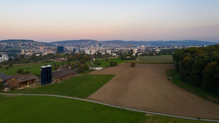 21.09.2019 - Zürich - Dunkelhölzli - Blick auf Zürich