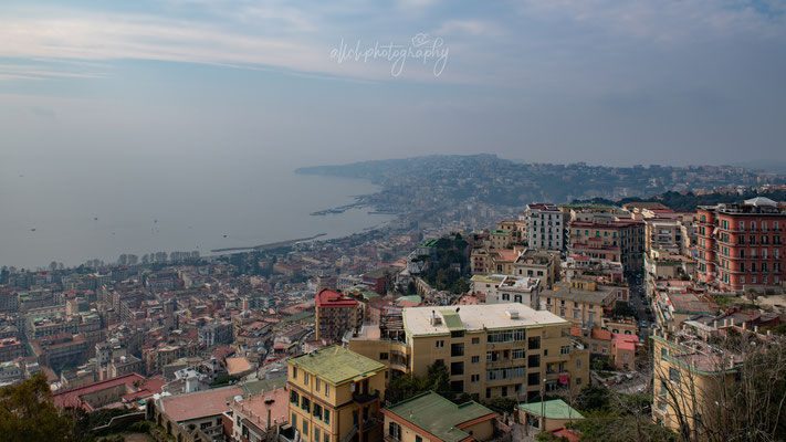 22.02.2019 - Italien - Napoli - Ausblick über die Stadt