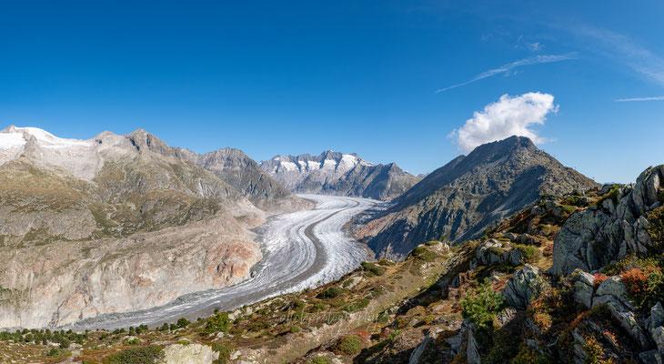 15.09.2019 - Wallis - Aletscharena - Alletschgletscher