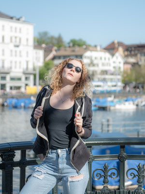20.04.2018 - Shooting mit Nina - City Shooting in Zürich